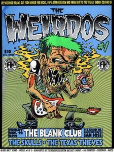 THE WEIRDOS ISSUE 1