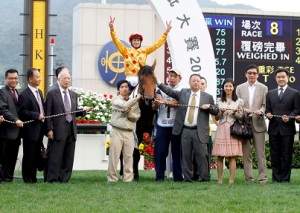 TOMMY BERRY WILL NOT BE A RASPBERRY IN HONG KONG 7