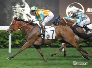 TOMMY BERRY WILL NOT BE A RASPBERRY IN HONG KONG 9