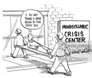 Monosyllabic Crisis Center