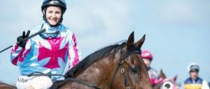 Michelle Payne riding