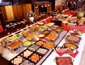 huge buffet
