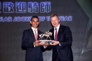 Most popular jockey award 1