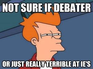 bad debater