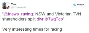 The best from the racing Twitterverse 1