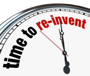 Time to Re-Invent - Clock