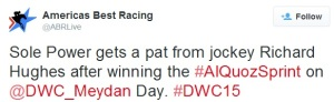 From The Dubai World Cup Twitterverse 10a