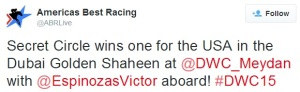 From The Dubai World Cup Twitterverse 14a