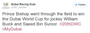 From The Dubai World Cup Twitterverse 19