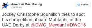 From The Dubai World Cup Twitterverse 8a
