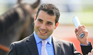 Marco Botti, the Newmarket trainer, who moved into new custom-built stables at Prestige Place