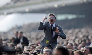 A punter at Cheltenham