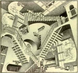 Escher Infinite Stairs