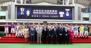 jockeys at the hkir