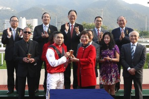 Chinese Challenge Cup presentation