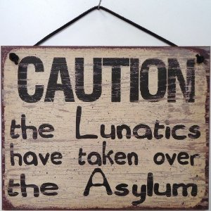 the lunatics have taken over the asylum