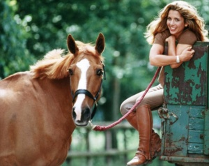 Princess Haya and horse
