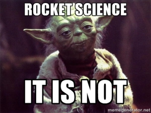Rocket science yoda