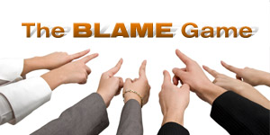 THE BLAME GAME ISSUE 1