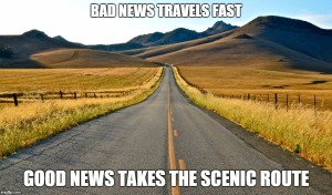 scenic route meme